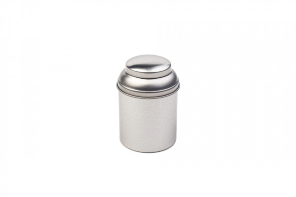 Kleine runde Teedose