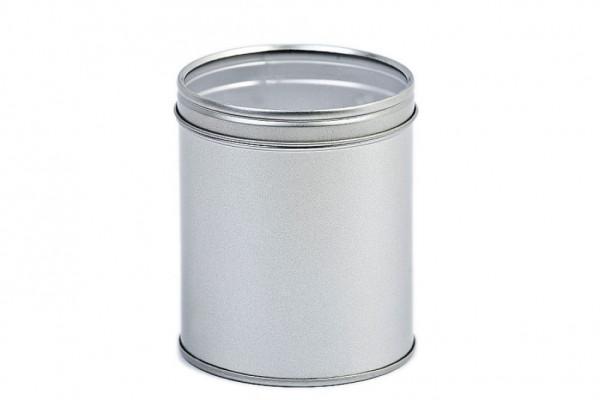 round tin case