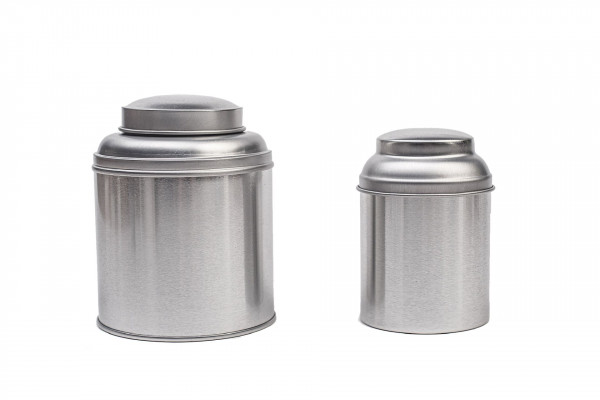 Tea tin boxes with aroma-proof lid