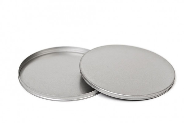 cd tin case - round