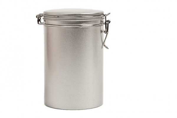 coffee tin, round
