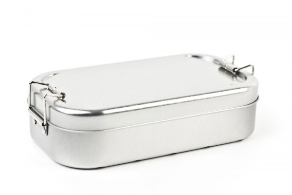 Lunch Box - silver Edition
