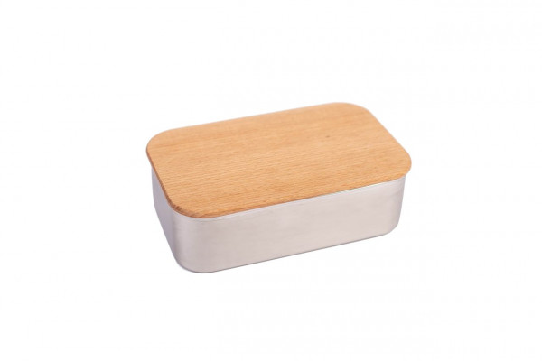 Stainless steel Lunchbox Beech